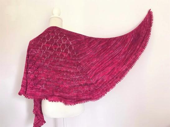 chale shawl amélia petit bout de moi dentelle tricot vieille morue 14