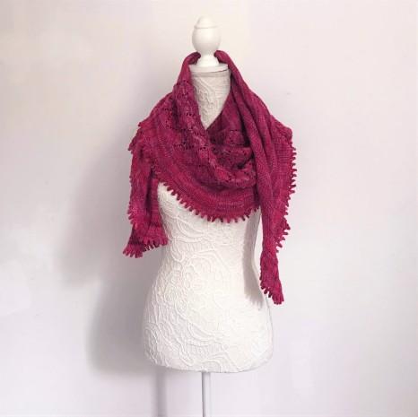 chale shawl amélia petit bout de moi dentelle tricot vieille morue 2