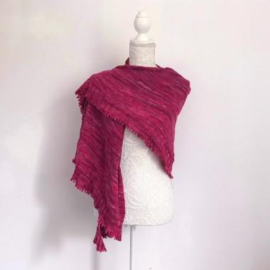 chale shawl amélia petit bout de moi dentelle tricot vieille morue 5