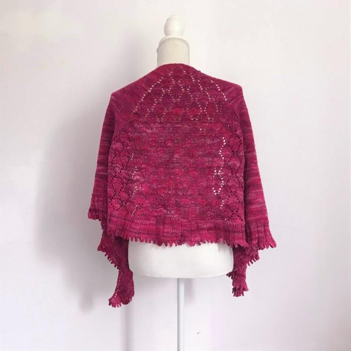 chale shawl amélia petit bout de moi dentelle tricot vieille morue 6