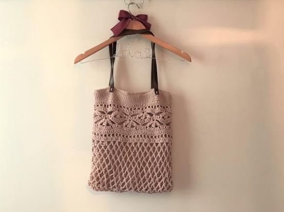 sac weaves bag crochet chouette kit drops paris vieille morue 1
