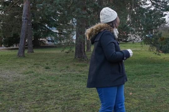 chouette kit crochet ensemble bonnet mitaines snood point de vannerie scott calendrier avent cotton merino concept katia vieille morue 12