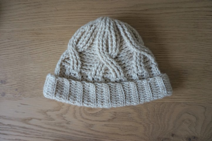 chouette kit crochet ensemble bonnet mitaines snood point de vannerie scott calendrier avent cotton merino concept katia vieille morue 5