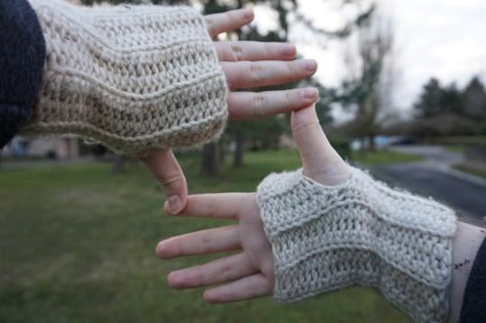 chouette kit crochet ensemble bonnet mitaines snood point de vannerie scott calendrier avent cotton merino concept katia vieille morue 8