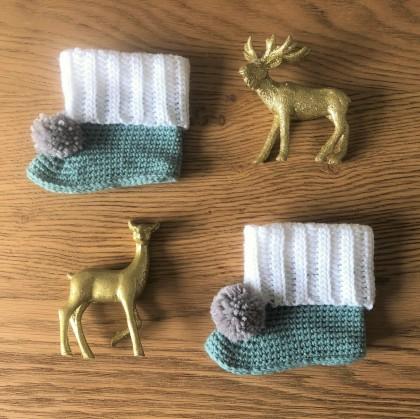 mollie makes lakeside loops hors série noël 15 chaussons color block bébé layette enfant rico design baby classic dk vieille morue 1
