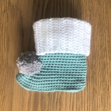 mollie makes lakeside loops hors série noël 15 chaussons color block bébé layette enfant rico design baby classic dk vieille morue 4