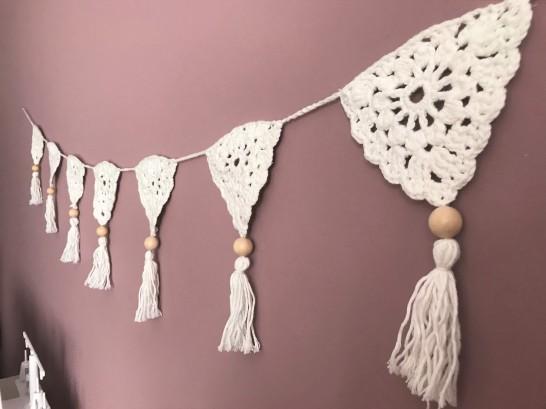 fanion mollie makes 17 lulu loves guirlande boho crochet perle la droguerie marchande de couleurs vieille morue 10