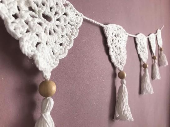 fanion mollie makes 17 lulu loves guirlande boho crochet perle la droguerie marchande de couleurs vieille morue 9