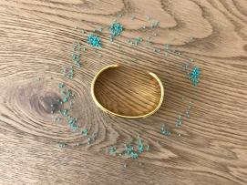 bracelet manchette tissage miyuki metier tisser perles sun enterprises la droguerie perlesandco vieille morue 1