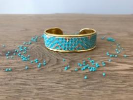 bracelet manchette tissage miyuki metier tisser perles sun enterprises la droguerie perlesandco vieille morue 2