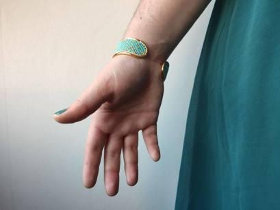bracelet manchette tissage miyuki metier tisser perles sun enterprises la droguerie perlesandco vieille morue 9