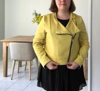 perfecto coco craftine box octobre 2018 suédine jaune vieille morue 14