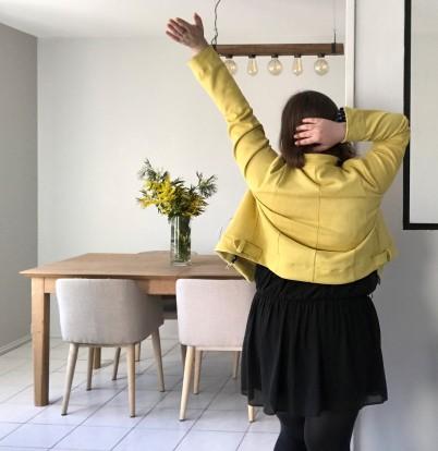 perfecto coco craftine box octobre 2018 suédine jaune vieille morue 8