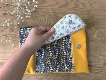 pochette sac sacha passepoil petit patron toto atelier de la création coton simili vieille morue 2