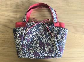 cabas frou frou paris liberty fleur couture tissus sac encours vieille morue 6