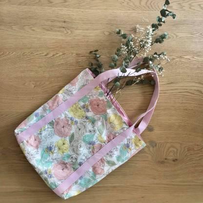 sac malo petit patron doublure poche mondial tissus fleur couture cabas tote bag vieille morue 1