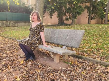 vieille morue robe eugénie atelier scammit cache coeur coupons de st pierre crépon viscose léopard 6