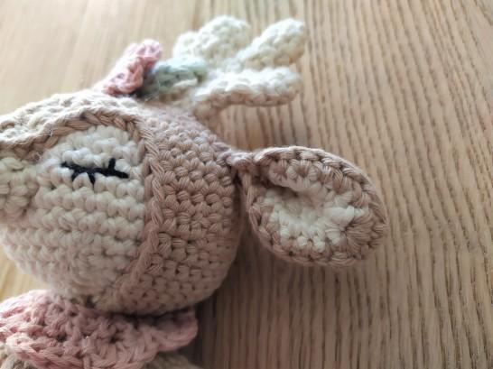 Wolltastisch Handmade mini matilda drops paris garnstudio vieille morue renne amigurumi 6