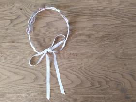 headband couronne fleurs brodées broderie artesane atelier by martine biessy au ver à soie vieille morue 10