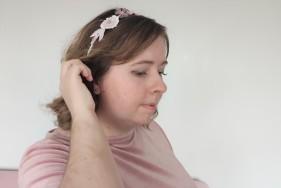 headband couronne fleurs brodées broderie artesane atelier by martine biessy au ver à soie vieille morue 2