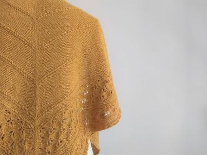 freia frost shawl chale trin annelie knits tricot bio balance bc garn vieille morue 3