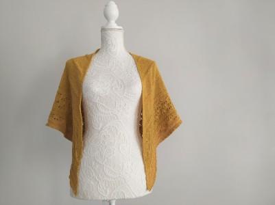 freia frost shawl chale trin annelie knits tricot bio balance bc garn vieille morue 5