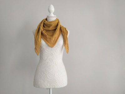 freia frost shawl chale trin annelie knits tricot bio balance bc garn vieille morue 7