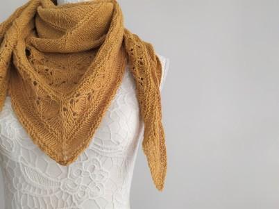 freia frost shawl chale trin annelie knits tricot bio balance bc garn vieille morue 8