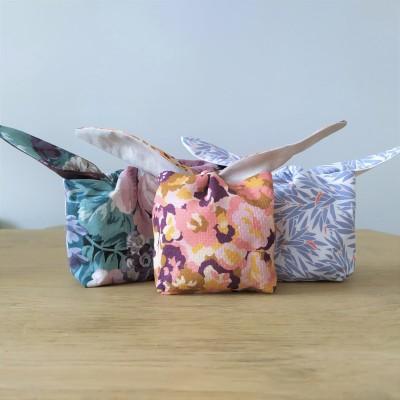 chouette kit pochon lapin tuto recyclage chute de tissu pâques vieille morue 3