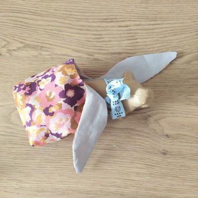chouette kit pochon lapin tuto recyclage chute de tissu pâques vieille morue 6