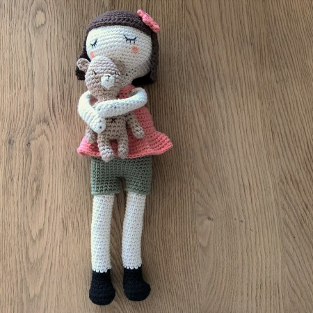 ligne retro suzanne et pompon poupée crochet doll drops paris vieille morue 1