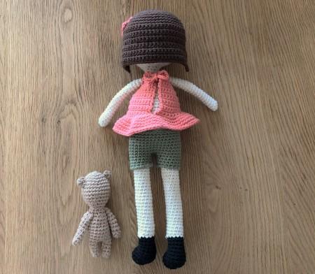 ligne retro suzanne et pompon poupée crochet doll drops paris vieille morue 7