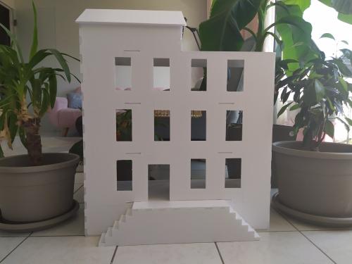 vieille morue maison de poupée miniature dollhouse 16 24 sylvanians playmobils diy tuto 1